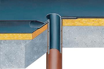 Accesorios y materiales para cubiertas planas e inclinadas y para terrazas